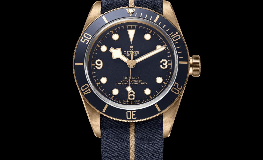 Tudor Heritage Black Bay Bronze Blue Watch
